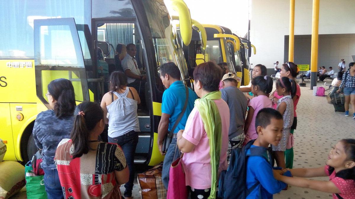 автобусный терминал, автовокзал, Думагете, Филиппины